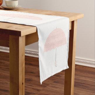 Girl Baby Shower Short Table Runner