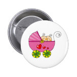 Girl baby twins badges