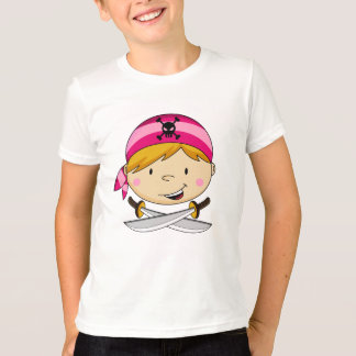 Girl Bandana Pirate Tee