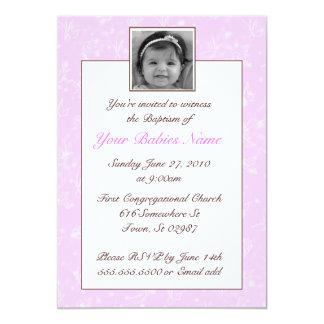 Girl Baptism / Christening Card