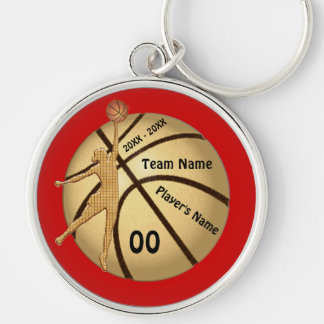 Girl Basketball Senior Night Gifts Your Text Color Key Ring