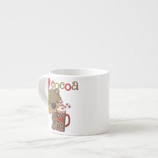 Girl Bear Cocoa Love Espresso Cup
