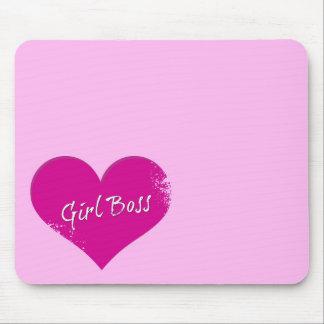 Girl Boss Power Mouse Pad