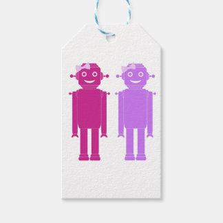 Girl Bots Gift Tags