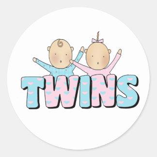 Girl & Boy TWINS Stickers