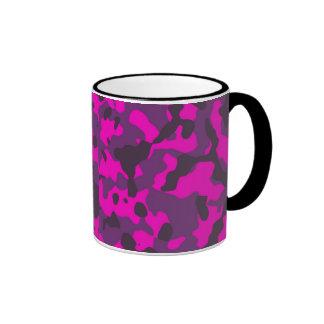 girl camo ringer mug