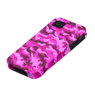 Girl camouflage vibe iPhone 4 case
