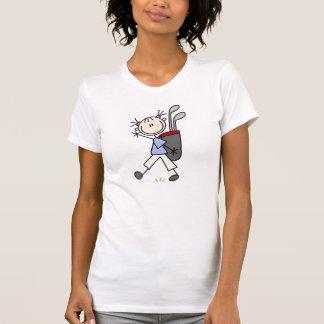 Girl  Carrying The Golf Bag Shirt