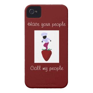Girl Chef Blackberry Phone Cover