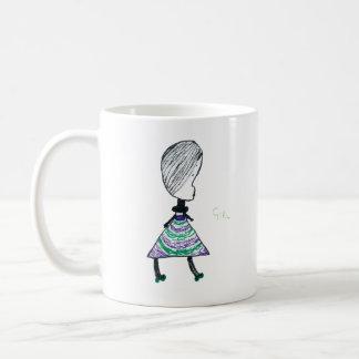 Girl Classic White Coffee Mug