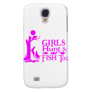 GIRL COON HUNTING GALAXY S4 CASES