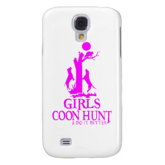 GIRL COON HUNTING GALAXY S4 COVER