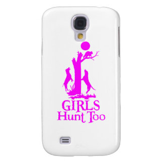 GIRL COON HUNTING SAMSUNG GALAXY S4 CASE