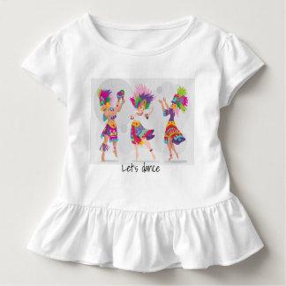 Girl dancing Toddler shirt