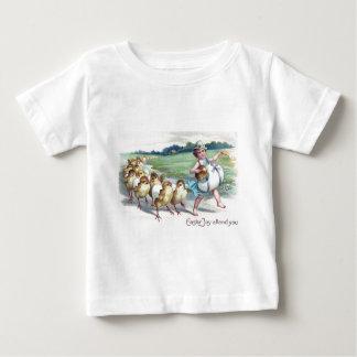 Girl Easter Chick Egg Drum Victorian Infant T-Shirt