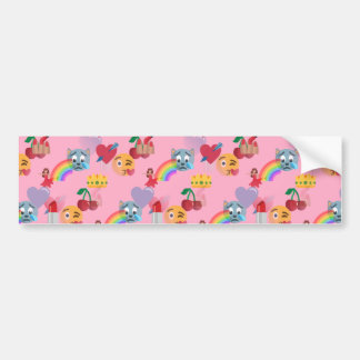 girl emoji bumper sticker