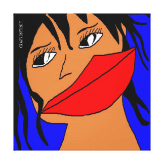 GIRL FASHION 2 CANVAS PRINT