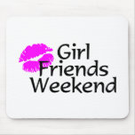 Girl Friends Weekend Mouse Pad