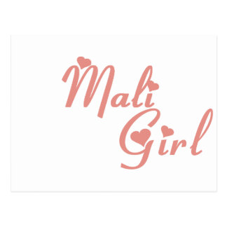 Girl from Mali Postcard