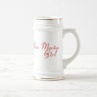 Girl from San Marino Mugs