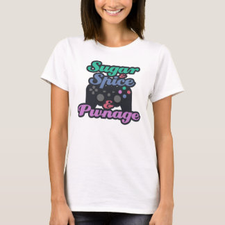 Girl Gamer Pwnage T-Shirt