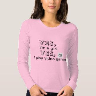 Girl Gamer T-shirts