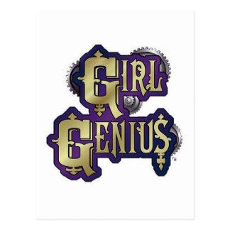 Girl Genius Postcard