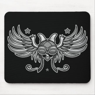 Girl Gone Road Mouse Pad