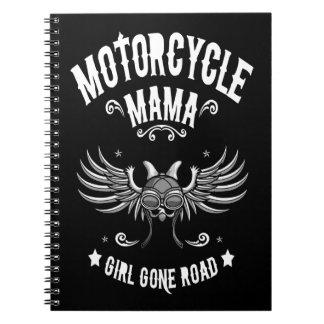 Girl Gone Road Spiral Notebook