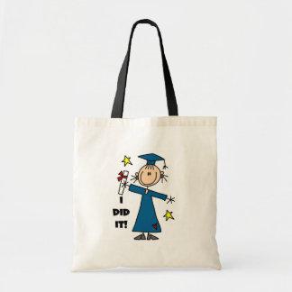 Girl Graduate Budget Tote Bag