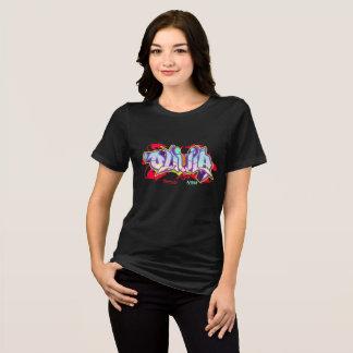 Girl Graffiti: Olivia Streetwear T-Shirt