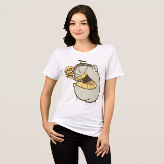 Girl Graffiti: Stay Real Character Streetwear T-Shirt