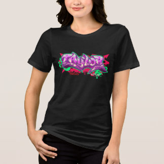 Girl Graffiti: Taylor Streetwear T-Shirt