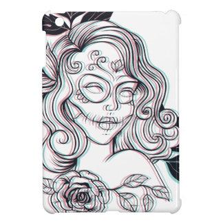 girl graphic illustration iPad mini cover