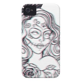 girl graphic illustration iPhone 4 case