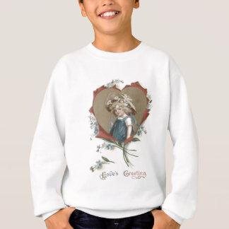 Girl Heart Forget-Me-Not Daisy Sweatshirt