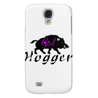GIRL HOG HUNTER GALAXY S4 COVER