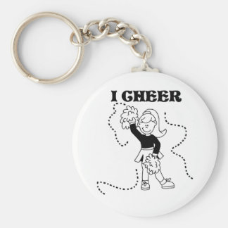 Girl I Cheer Key Ring