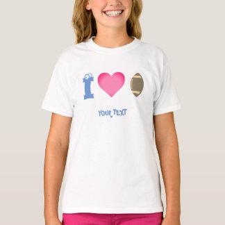 girl, I love American soccer T-Shirt