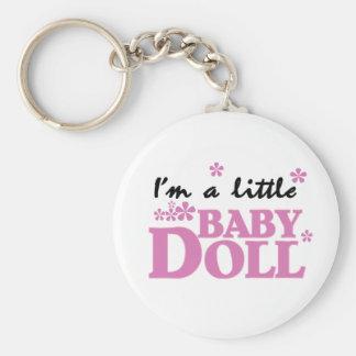 Girl I m a Baby Doll Keychains