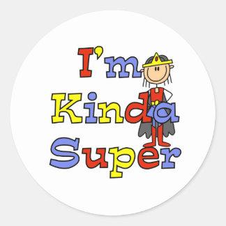 Girl I'm Kinda Super Sticker