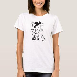 Girl in a kimono T-Shirt
