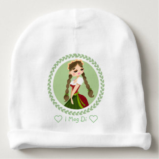 Girl in Dirndl Baby Beanie