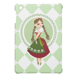 Girl in Dirndl Cover For The iPad Mini