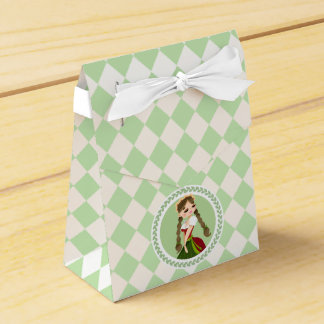 Girl in Dirndl Favour Box