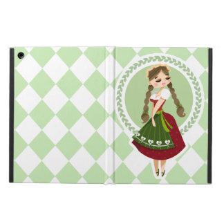 Girl in Dirndl iPad Air Cover