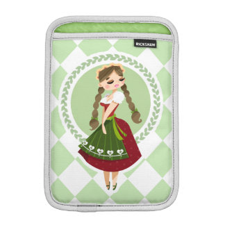 Girl in Dirndl iPad Mini Sleeve