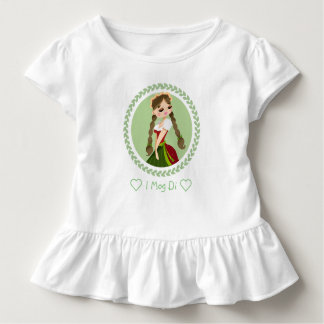 Girl in Dirndl Toddler T-Shirt