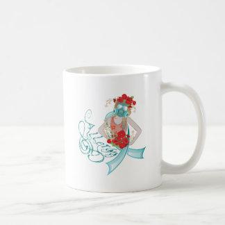 Girl in Gasmask Allergy2 Coffee Mug