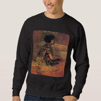 'Girl in Grass Dress' - John LaFarge Sweatshirt